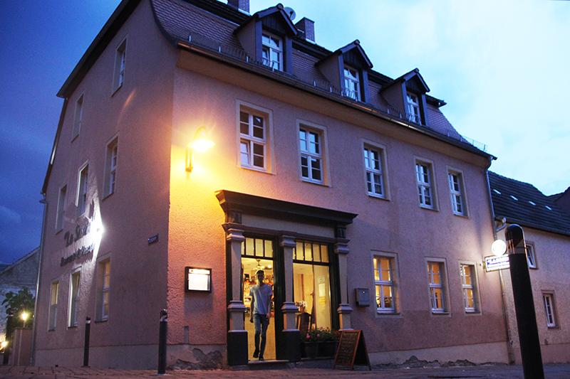 Eingang Restaurant La Sosta Querfurt