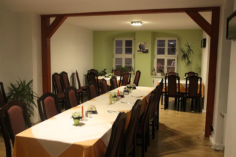 Gastraum oben Restaurant La Sosta Querfurt